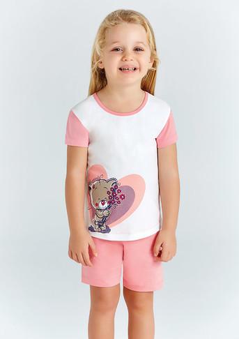 Пижама для девочки, (арт. 9207)
