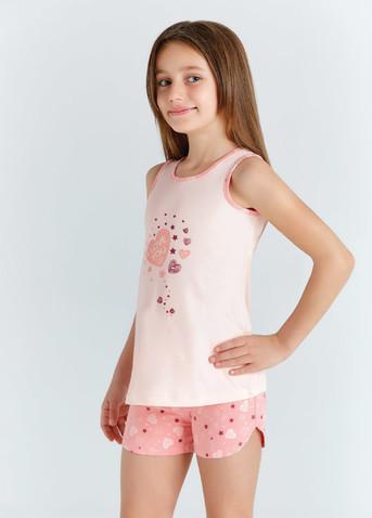 Пижама для девочки, (арт. 9206)