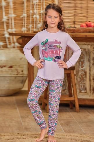 Пижама для девочки (арт. 9137) Baykar - фото 3