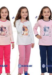 Пижама для девочки, (арт. 9004)