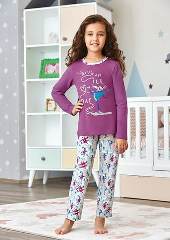 Пижама для девочки, (арт. 9245)