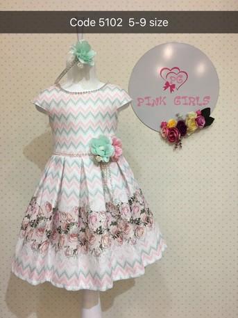 Платье для девочки, (арт. 5102)