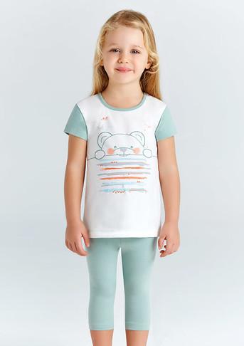 Пижама для девочки, (арт. 9204)