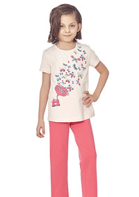 Пижама для девочки, (арт. 9327)