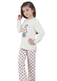 Пижама для девочки, (арт. 9020)