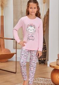 Пижама для девочки, (арт. 9139)