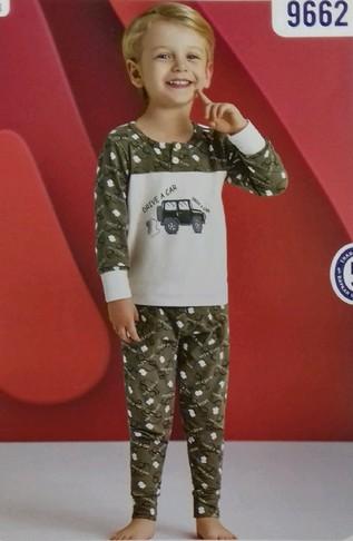 Пижама для мальчика, (арт. 9662)