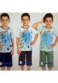 Пижама для мальчика, (арт. 9077)