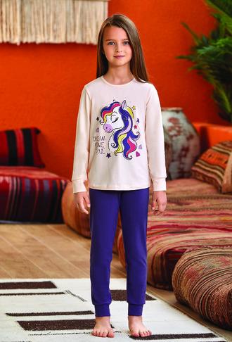 Пижама для девочки (арт. 9136) Baykar - фото 1