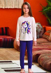Пижама для девочки, (арт. 9136)
