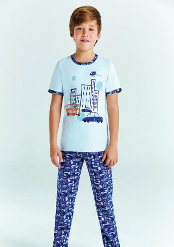 Пижама для мальчика, (арт. 9681)