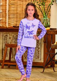 Пижама для девочки, (арт. 9147)