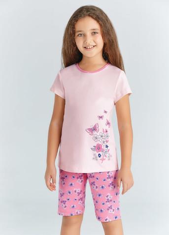 Пижама для девочки, (арт. 9220)
