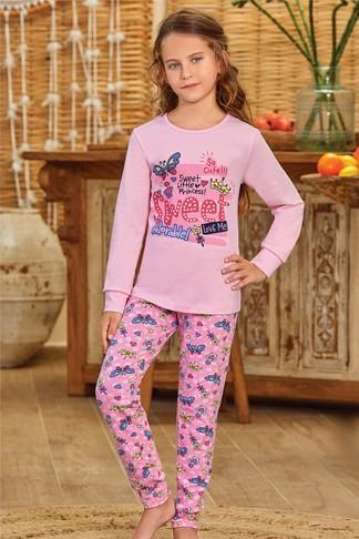 Пижама для девочки (арт. 9137) Baykar - фото 2