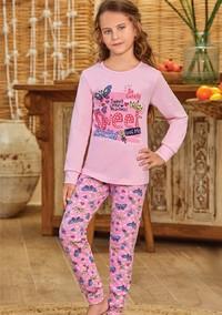 Пижама для девочки, (арт. 9137)