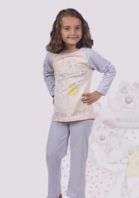 Пижама для девочки, (арт. 9028)