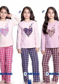 Пижама для девочки, (арт. 9344)