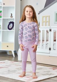Пижама для девочки, (арт. 9233)