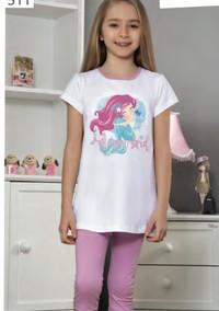 Пижама для девочки, (арт. 9111)
