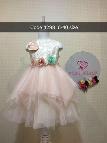 Платье для девочки, (арт. 4298)