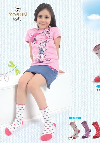 Носки для девочки, (арт. 3990)