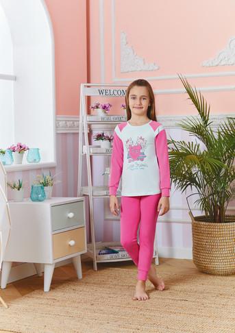 Пижама для девочки, (арт. 9241)