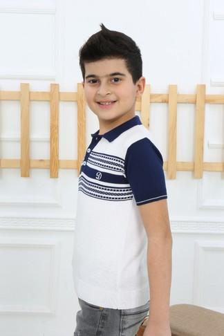 Футболка- поло для мальчика (арт. 11305) Dassimisi - фото 1