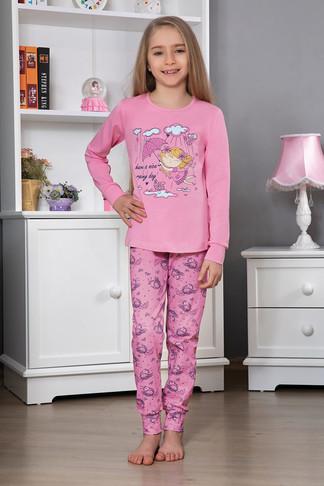 Пижама для девочки, (арт. 9124)