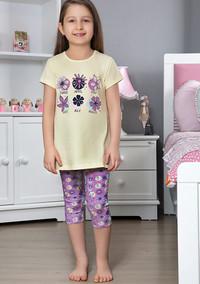 Пижама для девочки, (арт. 9116)