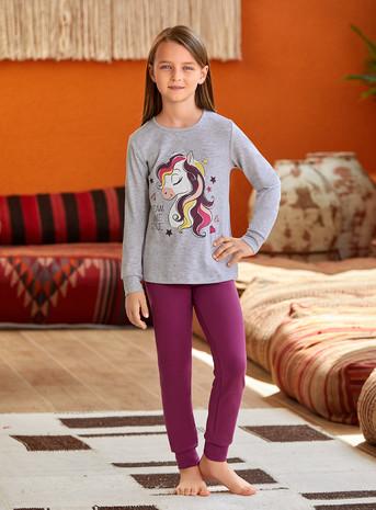 Пижама для девочки (арт. 9136) Baykar - фото 2