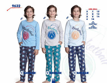 Пижама для мальчика, (арт. 9632)