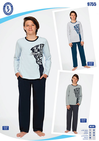 Пижама для мальчика, (арт. 9755)
