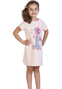 Ночная сорочка для девочки, (арт. 9044)