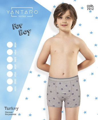 Боксеры для мальчика, (арт. 7012)