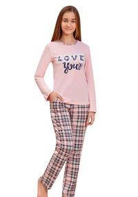 Пижама для девочки, (арт. 9155)