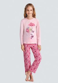 Пижама для девочки, (арт. 9343)