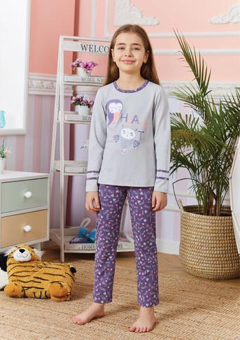 Пижама для девочки, (арт. 9259)