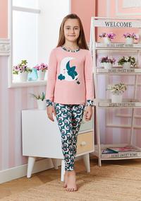Пижама для девочки, (арт. 9236)