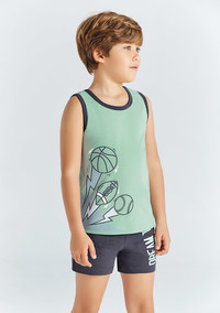 Пижама для мальчика, (арт. 9686)