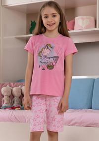 Пижама для девочки, (арт. 9106)