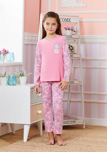 Пижама для девочек, (арт. 9238)
