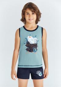 Пижама для мальчика, (арт. 9683)