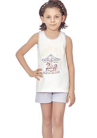 Пижама для девочки, (арт. 9316)