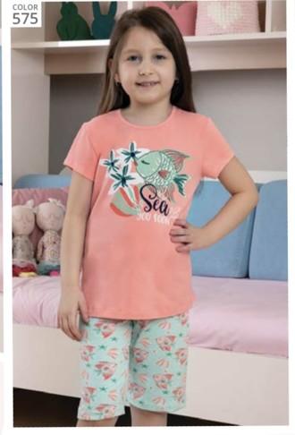 Пижама для девочки, (арт. 9110)