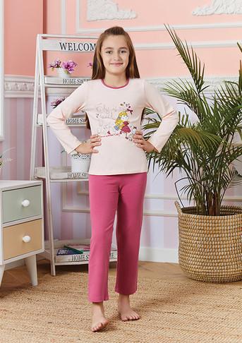 Пижама для девочки, (арт. 9243)
