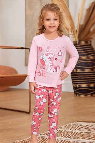 Пижама для девочек (арт. 9132) Baykar - фото 2