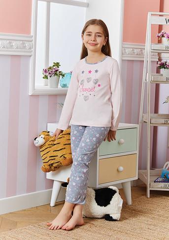 Пижама для девочки, (арт. 9255)