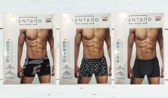 Новинка - боксеры для мужчин Yantaro!